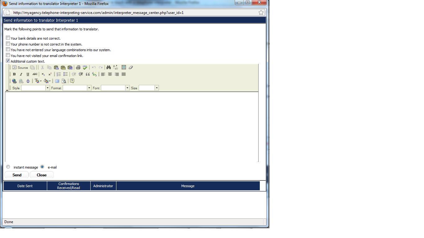 Interpreter_messages