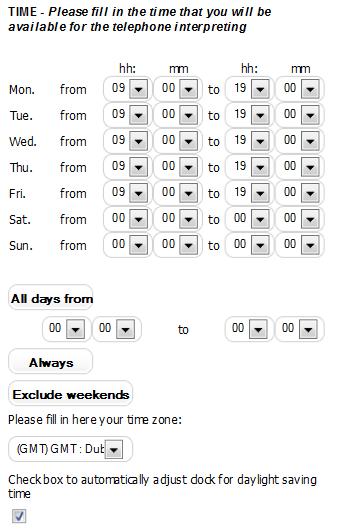Interpreters menu_availability